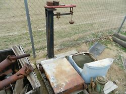 Antique / Vintage Fairbanks Platform Scale With Weights 1,000lb Capacity