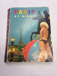 1960and039s Pinup Card Book Paris By Night 9 Photos
