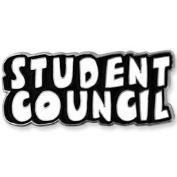 Pinmartand039s Black And White Student Council Word School Teacher Enamel Lapel Pin