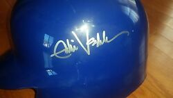 Eddie Vedder And039pearl Jamand039 Signed Auto Chicago Cubs Full Size Batting Helmet Coa