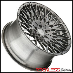 20 Avant Garde M540 Concave Brushed Tinted Wheels Rims Fits Audi A5