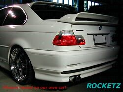 99-06 Bmw 3 Series E46 Hm Style Trunk Spoiler Wing Usa Canada Fits 2 Door