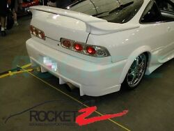 94-01 Acura Integra 3pc Trunk Spoiler Rear Wing W/ Led For 2dr Coupe Canada Usa