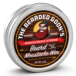 Bearded Goon Ridiculously Strong Beard amp; Moustache Wax All Natural Style amp; Hold