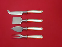 Marquise By And Co. Sterling Silver Cheese Serving Set 4pc Hhws Custom