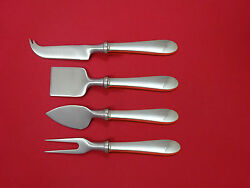 Salem By And Co Sterling Silver Cheese Serving Set 4pc Hhws Custom