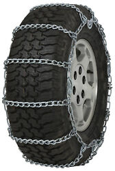 285/55-20 285/55r20 Tire Chains 7mm Link Cam Snow Traction Suv Light Truck Ice