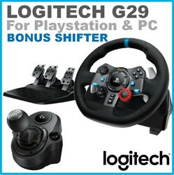 _Steering Wheel For Driving G29 PS4 PS3 Force New Racing Gaming Cockpit Race PC