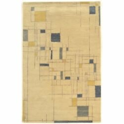 Bowery Hill 8and039 X 11and039 Hand Tufted Rug In Ivory And Blue