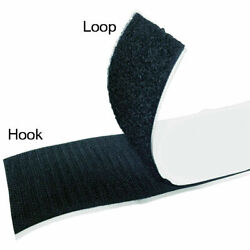 Hook And Loop Sticky Adhesive Backed Tape - Widths 1/2 1 2 3 4