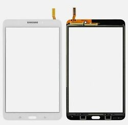White Samsung Galaxy Tab 4 Sm-t337t 8.0 Lens Touch Screen Digitizer Glass