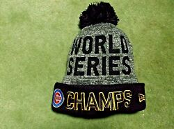 World Series Champs Chicago Cubs Beanie Hat Cap New Era New With Tags