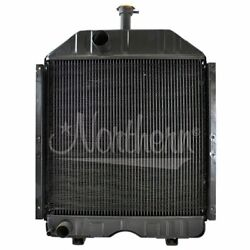 Made To Fit Case/ih Ford/new Holland Tractor Radiator 16 3/4 X 17 3/4 X 2 1/4 8n