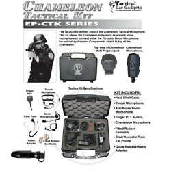 Earphone Connection CHAMELEON Tact Kit for Motorola PRO EX GL GP PTX (See List)