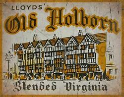 Old Holborn Tobacco Vintage Style Metal Tin Sign Poster Wall Plaque Pub Bar