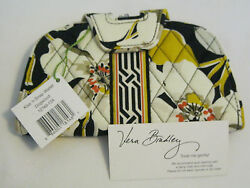 Vera Bradley DOGWOOD KISS & SNAP WALLET Clutch COIN for Purse TOTE Backpack  NWT