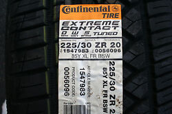 Four Brand New 225 30 20 Continental Exteme Contact DWS Tires 85Y*Shipping Disc*