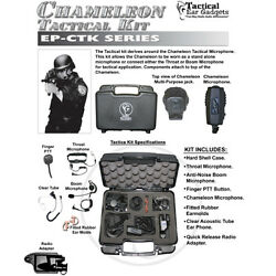CHAMELEON Tactical Kit for Harris  Macom Jaguar 2-Way Radios (See List)