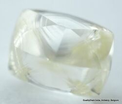 Flawless Clean Real Diamond Recently Mined Natural Diamond With Rare Surface