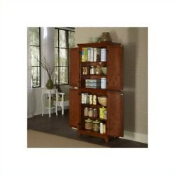 Home Styles Arts And Crafts Pantry In Cottage Oak