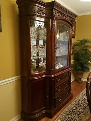 Dining Table Set And China Cabinet In Great Condition