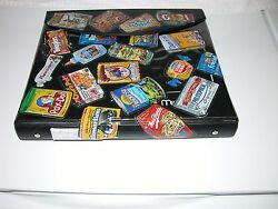 2004-2007 Wacky Packages Series 1 2 3 4 & 5 partial; trading sticker binder