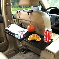 Foldable Laptop Tablet Pc Ipad Car Holder Steering Wheel Back Seat Lunch Table