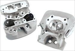 Sands Cycle Super Stock 89cc Silver Cylinder Heads For Harley Twin Cam 06-16