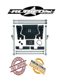 Rubicon Express Extreme Duty Long Arm Upgrade Kit For And03904-and03906 Jeep Wrangler Lj