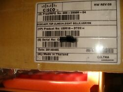 Cisco New Ubr10-dtcc Docsis Timing Communication And Control Card + Dti Client