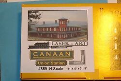 Canaan Union Station  859 N Scale By Laser Art Structures