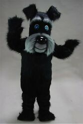 Black Terrier Mascot Costume