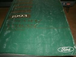 1993 FORD ESCORT MERCURY TRACER FACTORY FORD SHOP SERVICE MANUAL COMPLETE