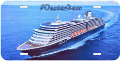 Westerdam Holland American Ship Any Name Novelty Auto License Plate