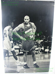 Huge Nike 1-of-a-kind ☆ Charles Barkley Jerome Kersey Display Poster Board 32x48