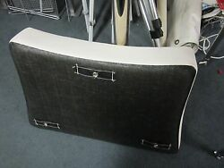Deck Boat Bow Cushion With Snaps