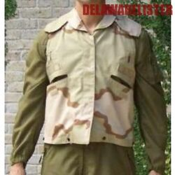 Us Military Army Desert Camo Flak Pasgt Jacket/vest Cover Size Sm/med New