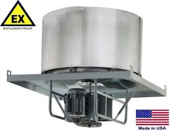 ROOF EXHAUSTER FAN - Explosion Proof - Belt Drive - 36