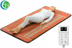 Heating Pad Pemf Far Infrared Bio Crystal Therapy Mat Healthyline - 80 X 40