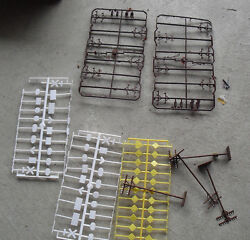 Lot Of Ho Scale Telephone Poles Ho O Scale Road Signs Look