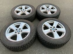 Set Of Oem Factory Bmw 18 X5 E70 Avalanche X-treme Winter Package Good Tread