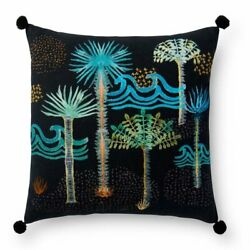 Loloi 13quot; x 21quot; Contemporary Down Pillow in Black