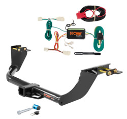 Curt Class 3 Trailer Hitch And Wiring W/hitch Lock For Mitsubishi Outlander