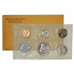 1962-p Proof Set United States Us Mint Original Government Packaging Box