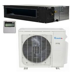 Klimaire 240000 Btu 20 SEER Commercial AC Ducted Heat 15FT KIT 220V