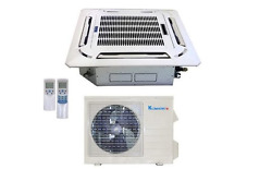 Klimaire 18000 BTU 20 SEER AC Commercial Ceiling Cassette Heat 15FT KIT  220V