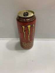 Monster Energy Drink Java Russian Full Can With Flaws