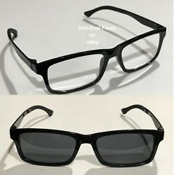 Transition Nearsighted Glasses Myopia Seeing Distance Minus Power -9.00 -10.00