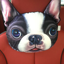 Boston Terrier Head Rest Pillow ANIMAL RESCUE DONATION