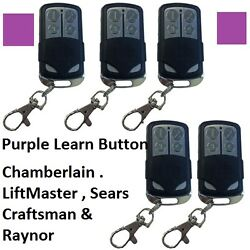 New Comp 371lm Liftmaster Sears Chamberlain Remote 373lm 370lm Usa Seller 5pk